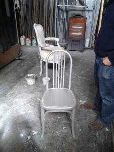 chairs at the citz