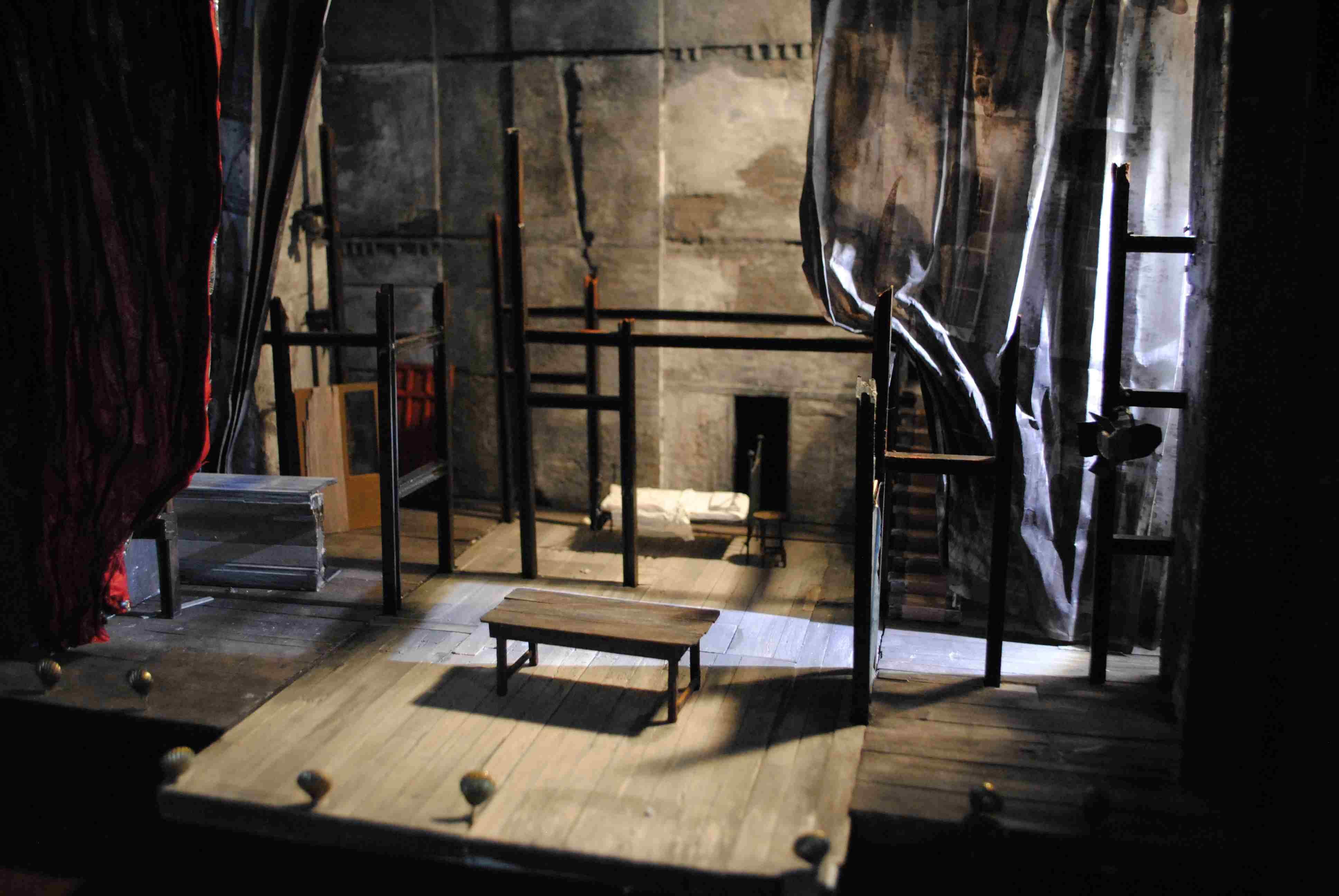 On model making tom piper theatre design for Theatre model
