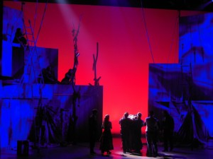 zorro atlanta. directed by Chris Renshaw, designed by Tom Piper, lighting by Ben Ormerod