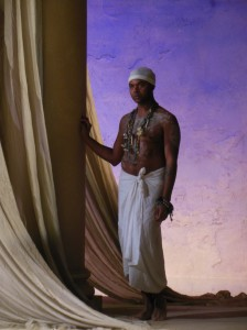 Antony and Cleopatra RSC. Directed by Tarell Maccraney, designed by Tom Piper