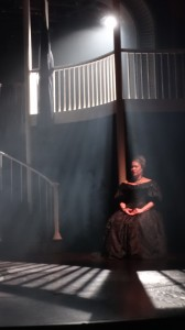 The House that Will Not Stand, by Marcus Grindley, Tricycle Theatre. Directed by Indhu Rubasingham, designed by Tom Piper, Lighting by Paul Anderson