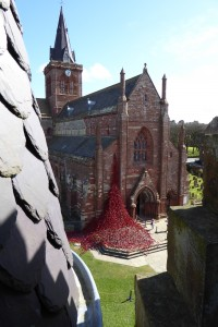 Weeping window Orkney by Artist Paul Cummins and Designer Tom Piper